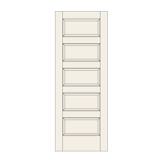 C55 Five Panel Door Craftwood Products For Builders And Designers