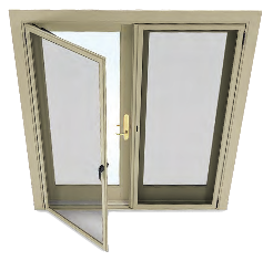Bi fold door craftwood products for builders and for Marvin window screens