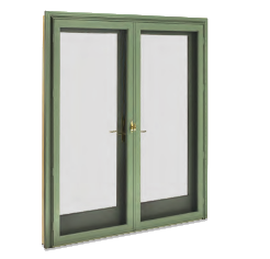 Ultimate swinging french door craftwood products for for Marvin window screens