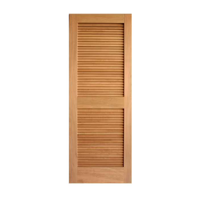 Louver over louver oak doors craftwood products for Prehung louvered interior doors