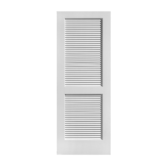 Louver Over Louver Primed Doors Craftwood Products For Builders