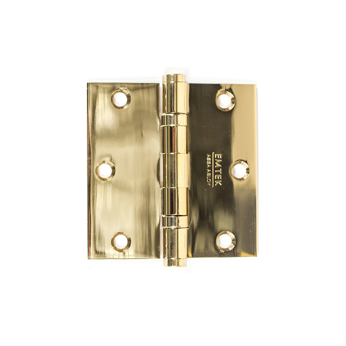 Heavy Duty Hinges Solid Brass With Square Corners Craftwood Products For Builders And