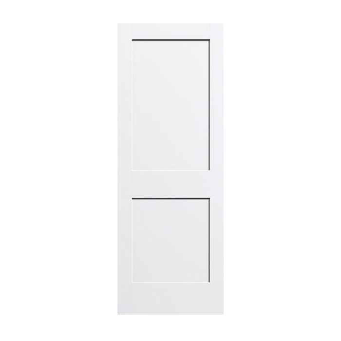 C22 2 Panel Shaker Style Primed Craftwood Products For