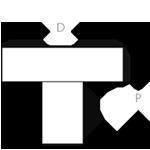 CraftwoodProducts.com-Cabinet-Bath-Hardware-Emtek-Cadet Knob 86321