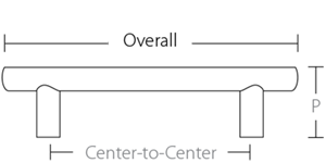 CraftwoodProducts.com-Cabinet-Bath-Hardware-Emtek-T-Curve Bar Pull 86416