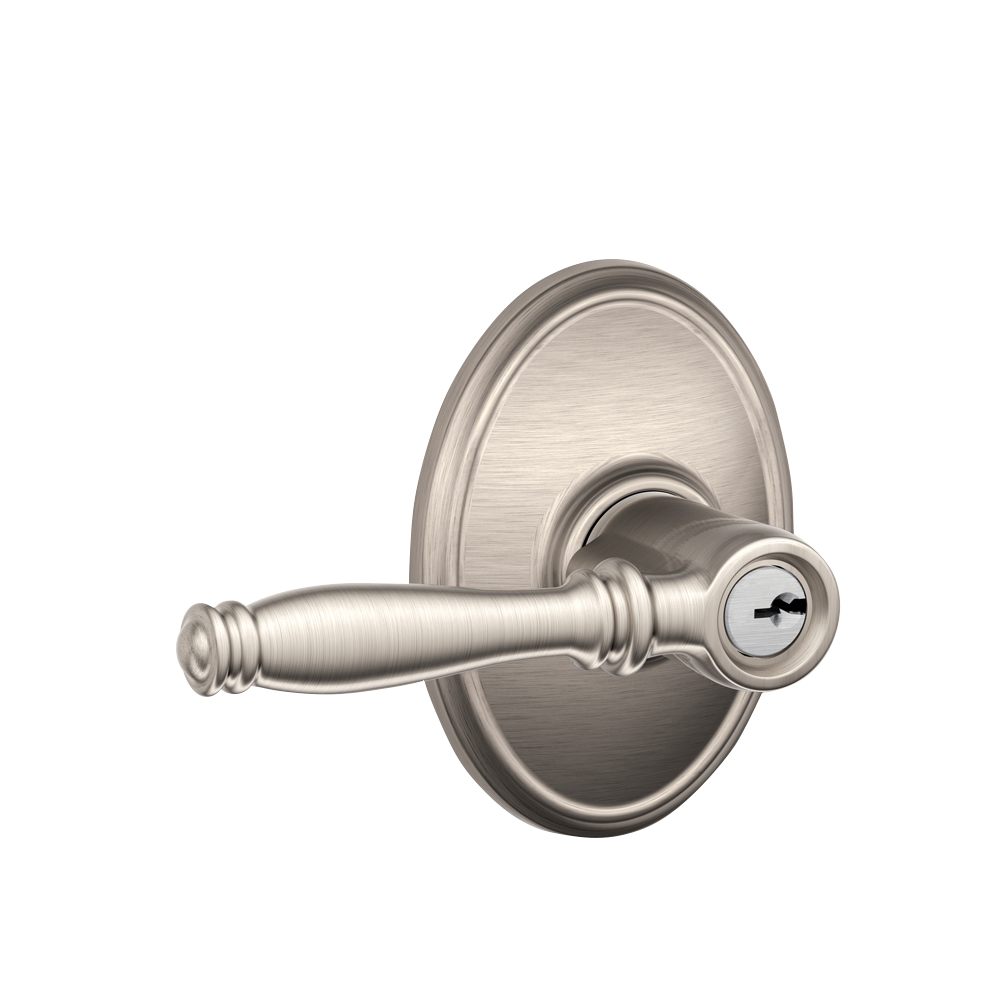 Birmingham Lever With Wakefield Rosette Keyed Entry Lock Craftwood Products