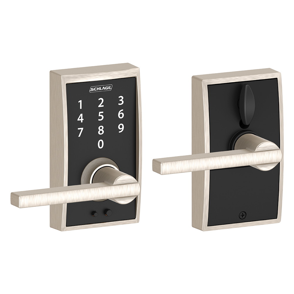 Keyless Touchscreen Lever With Century Trim And Latitude