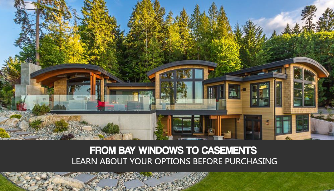 What are some tips for buying bay windows?