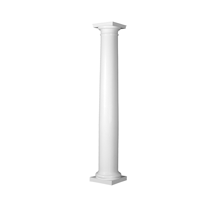 Turncraft Round Poly Classic Tapered Column Plain