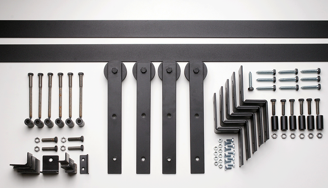 Barn Door Hardware Bent Strap Craftwood Products For Builders And Designers In Chicago