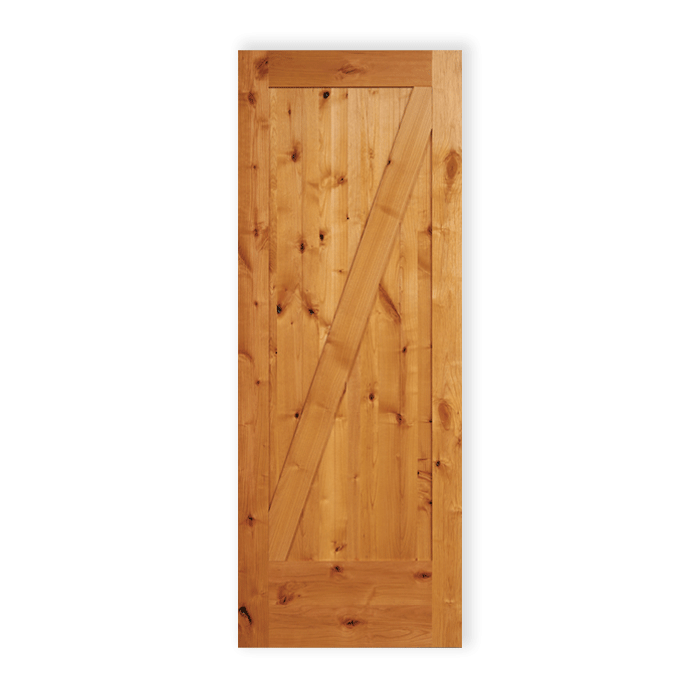 11a Knotty Alder 1 Panel Diagonal Craftwood Products For