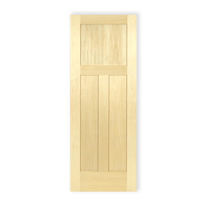 craftwood-interior-wood-doors-poplar-3panel-shaker-591  sc 1 st  Craftwood Products for Builders and Designers in Chicago & 3 Panel Shaker \u2013 Poplar \u2013 591 | Craftwood Products for Builders and ...