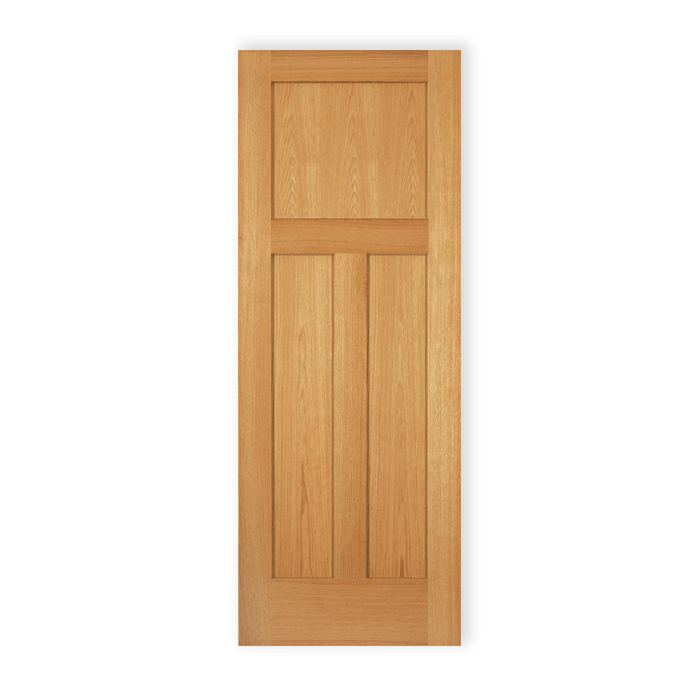 3 Panel Shaker Red Oak 591 Craftwood Products For
