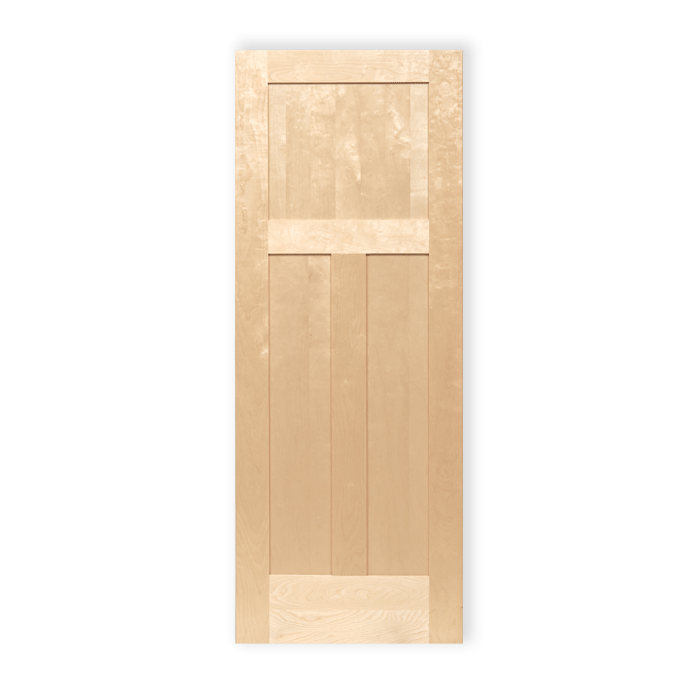 Craftwood Interior Wood Maple Doors 3panel 591