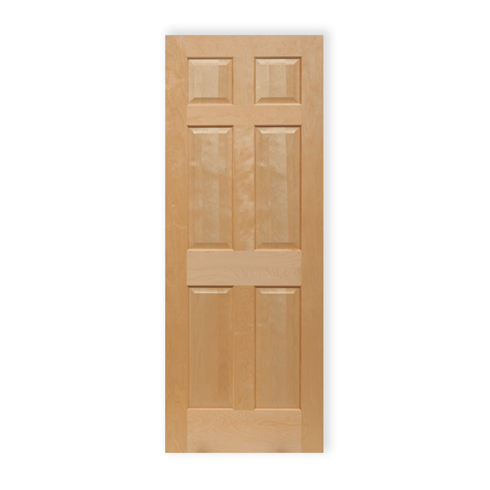 6 Panel Maple 66 Craftwood Products For Builders And Designers