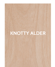 Knotty Alder - Stock - French Doors