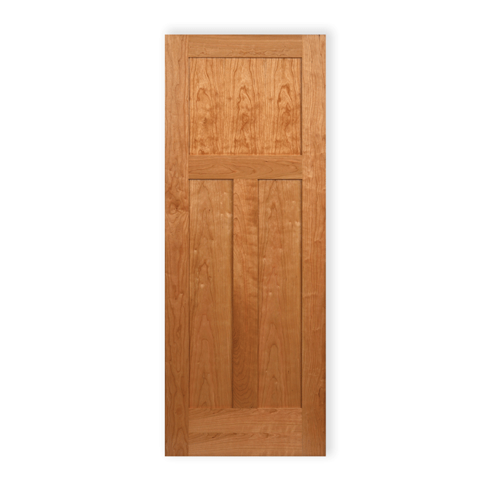 Craftwood Wood Interior Doors Cheery 3 Panel Shaker