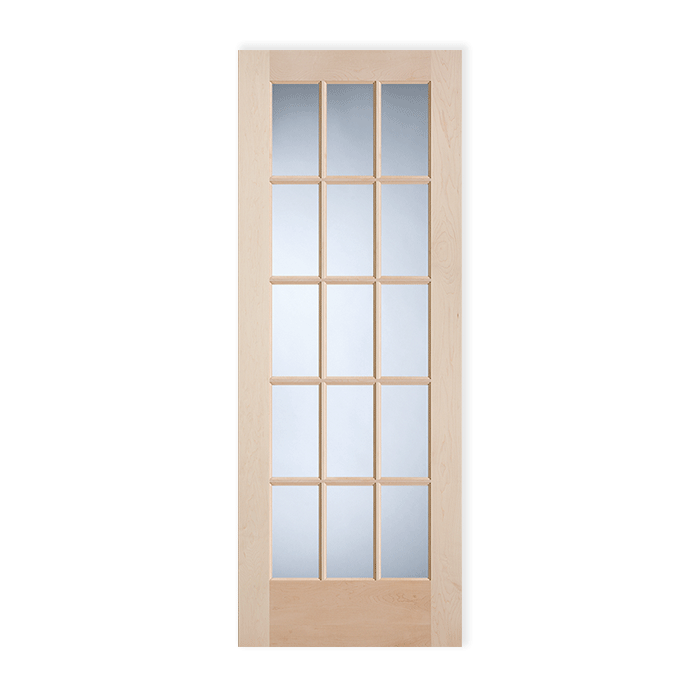 Maple Stock French Doors Craftwood Products For