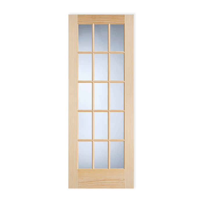 15 Lite Pine Clear Glass Ovolo Sticking Craftwood Products For Builders And Designers In