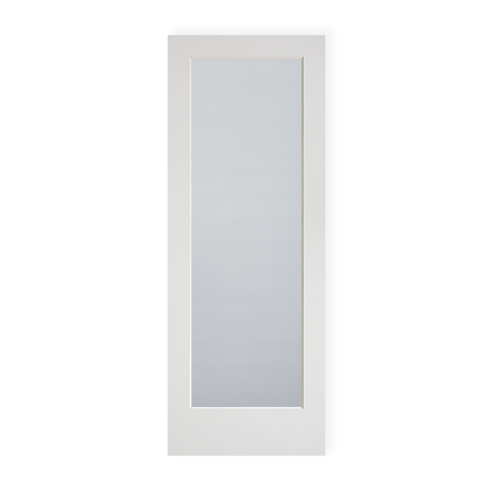 1 Lite Primed Frosted Glass Ovolo Sticking Craftwood