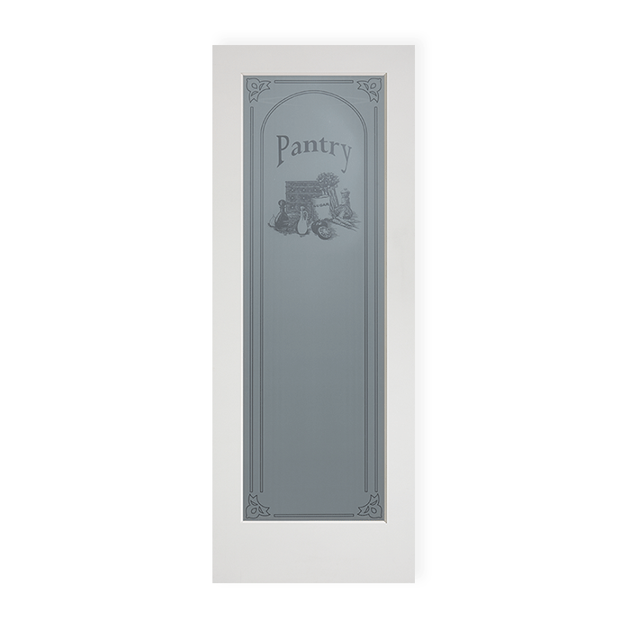 1 Lite Pantry Sign Ovolo Sticking Craftwood Products