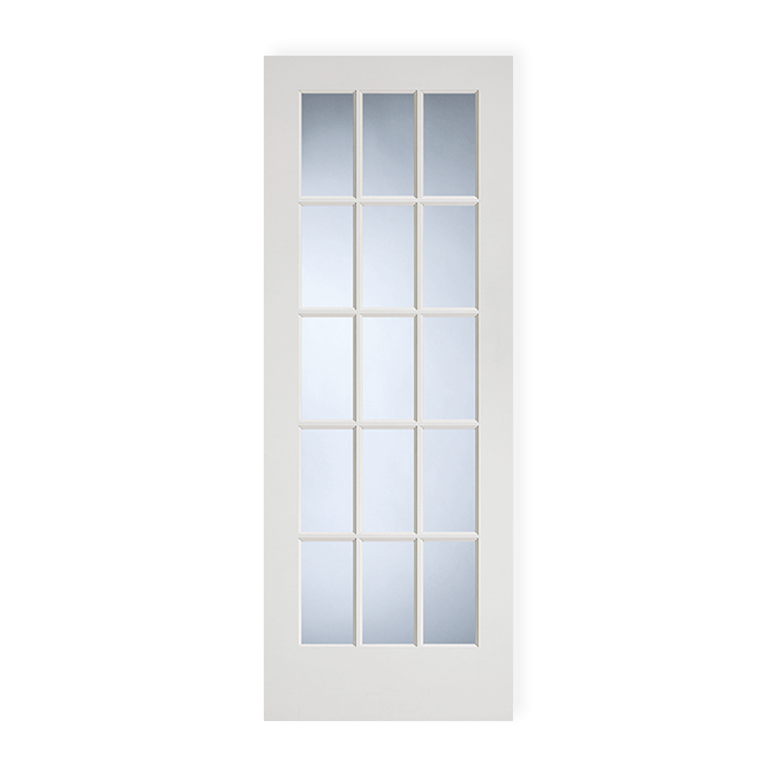 15 Lite Primed Clear Glass Ovolo Sticking Craftwood