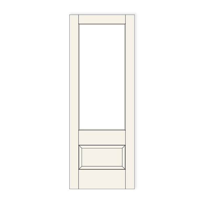 501 1 lite over 1 panel craftwood products for for Special order doors