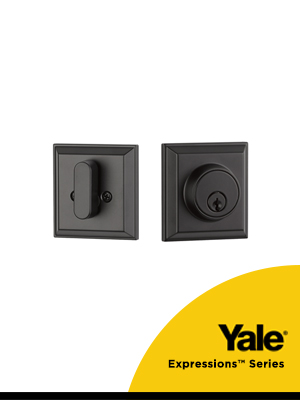 Yale Expression Deadbolts